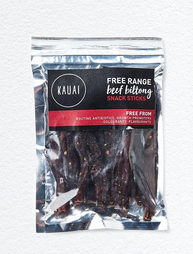 Kauai Free range beef biltong snack sticks