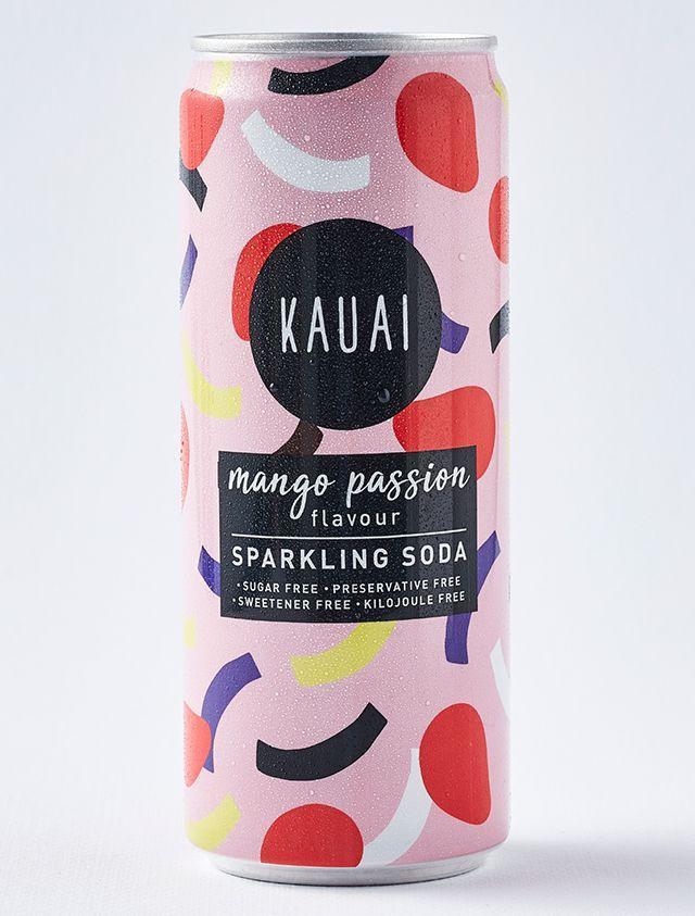 Kauai Mango Passion Sparkling Soda