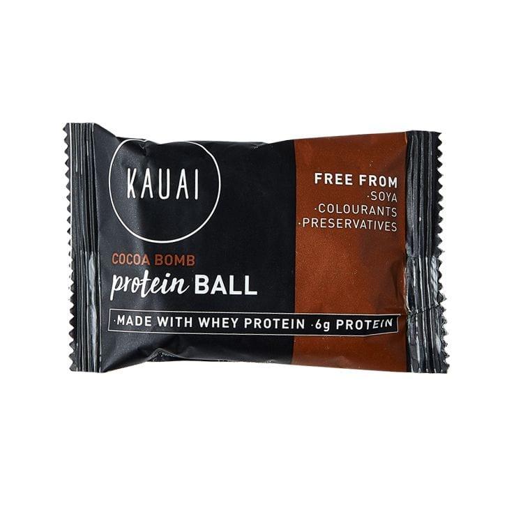Kauai Cocoa Bomb Protein Ball