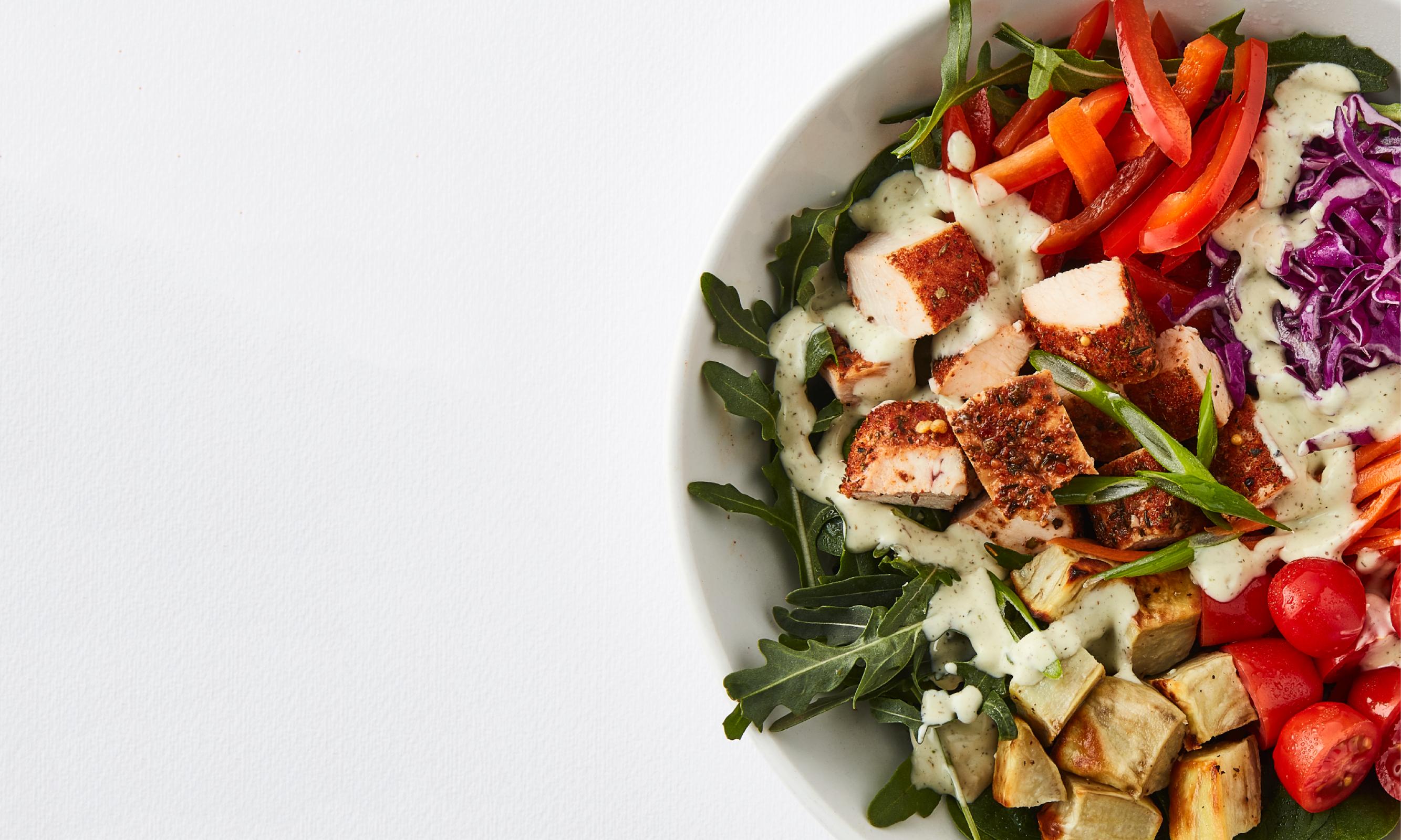 Summer Menu Cajun Chicken Salad