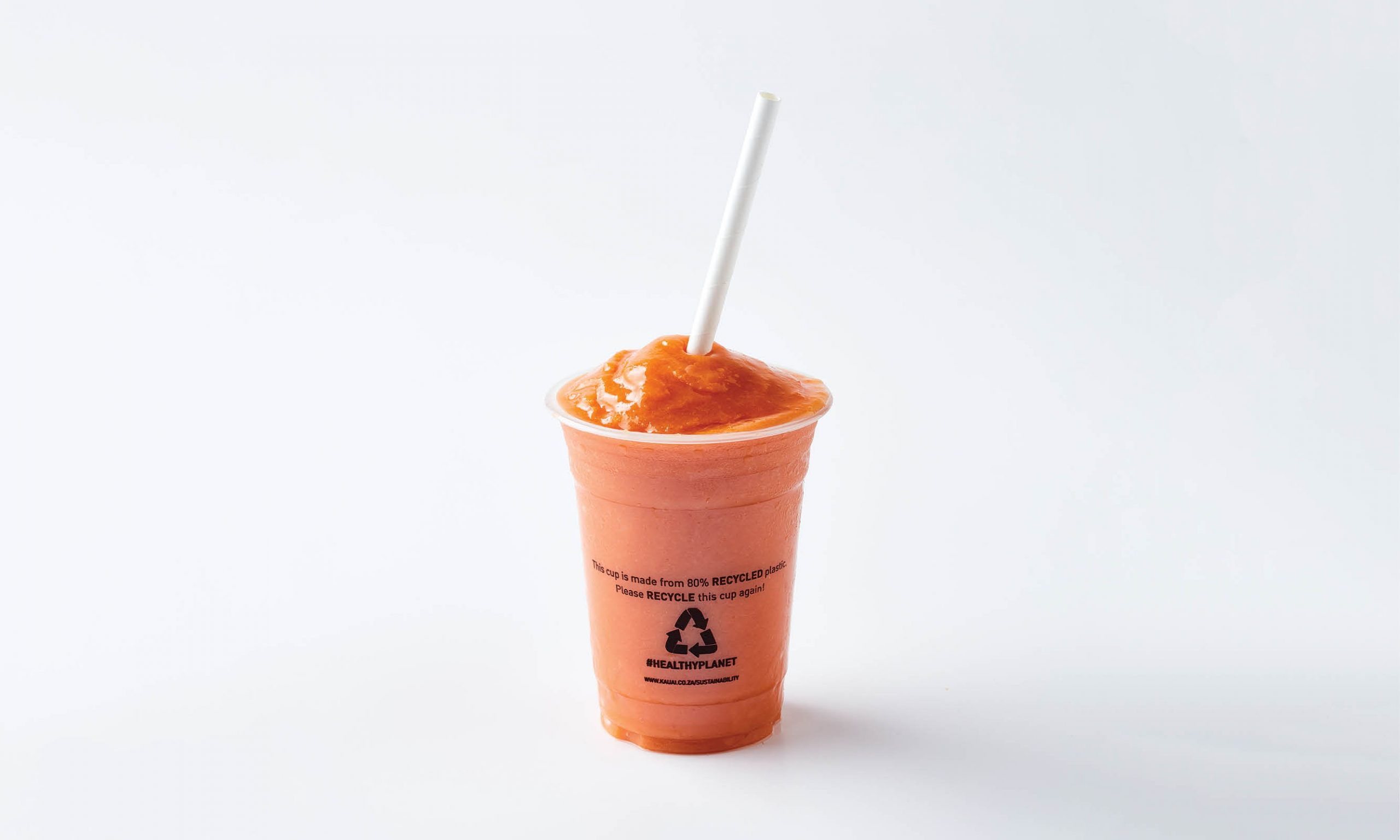 Sustainable Packaging Kauai Smoothie cups