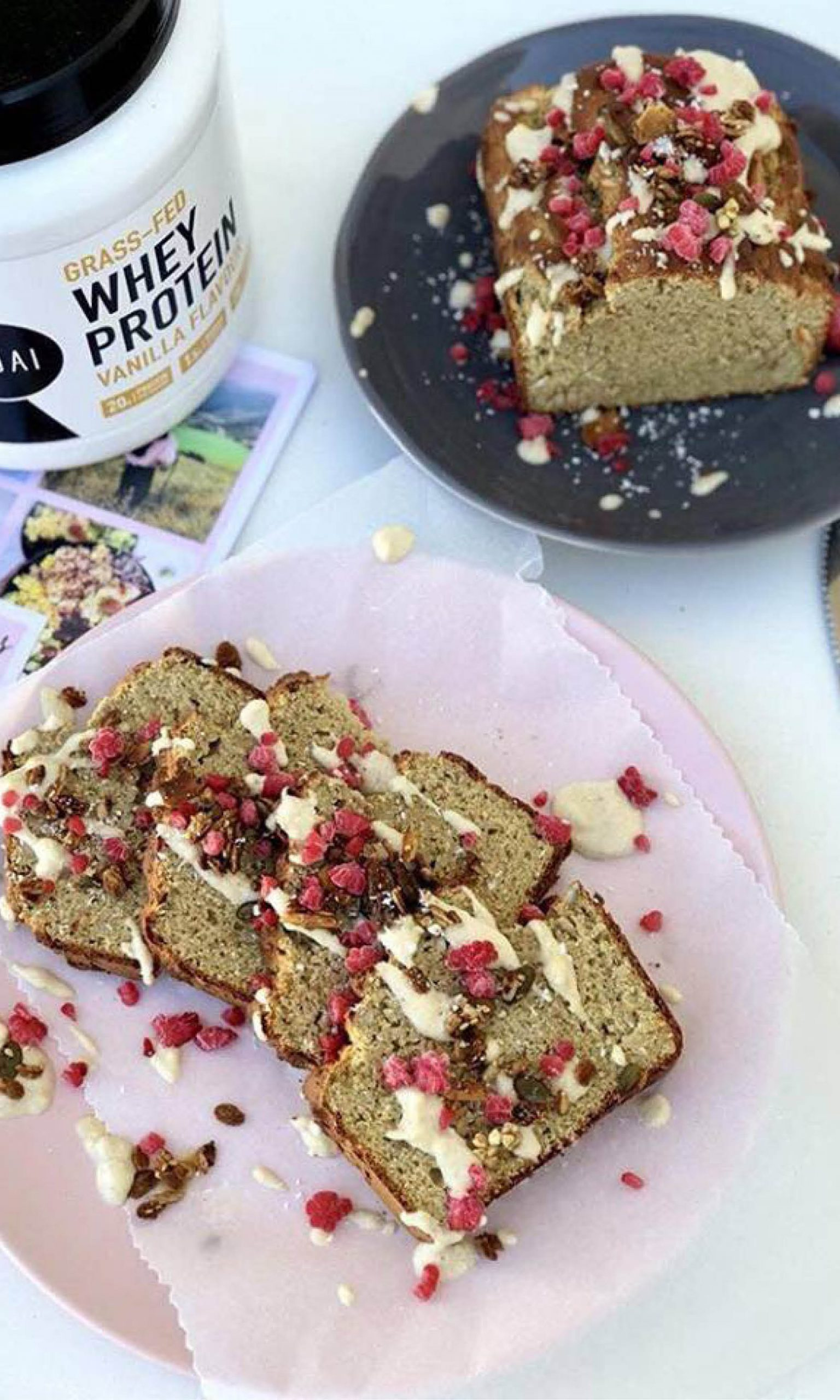 Jordyn's Channel yummy Protein Loaf with Kauai Whey Protein Powder