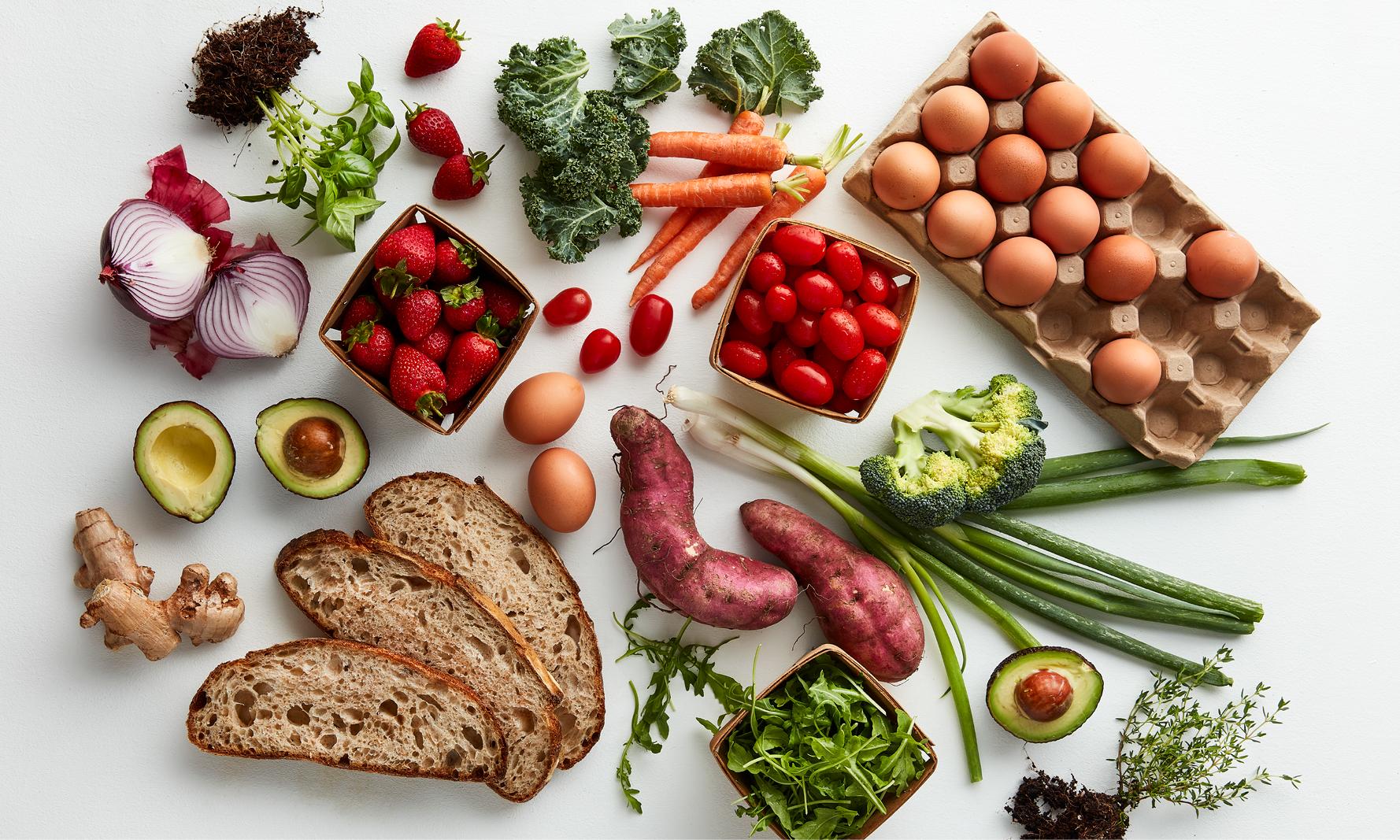 Bountiful vegetable & ingredient image - Vegetable intake