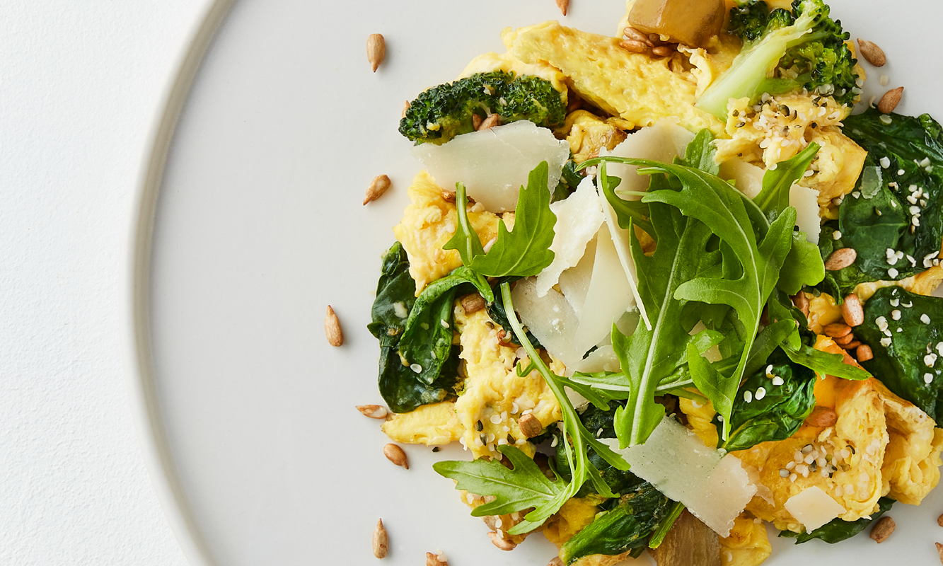 Superfood Scramble Closeup | Winter Menu