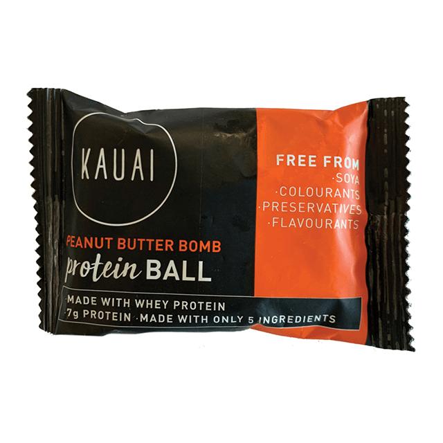 Kauai Peanut Butter Bomb Protein Ball
