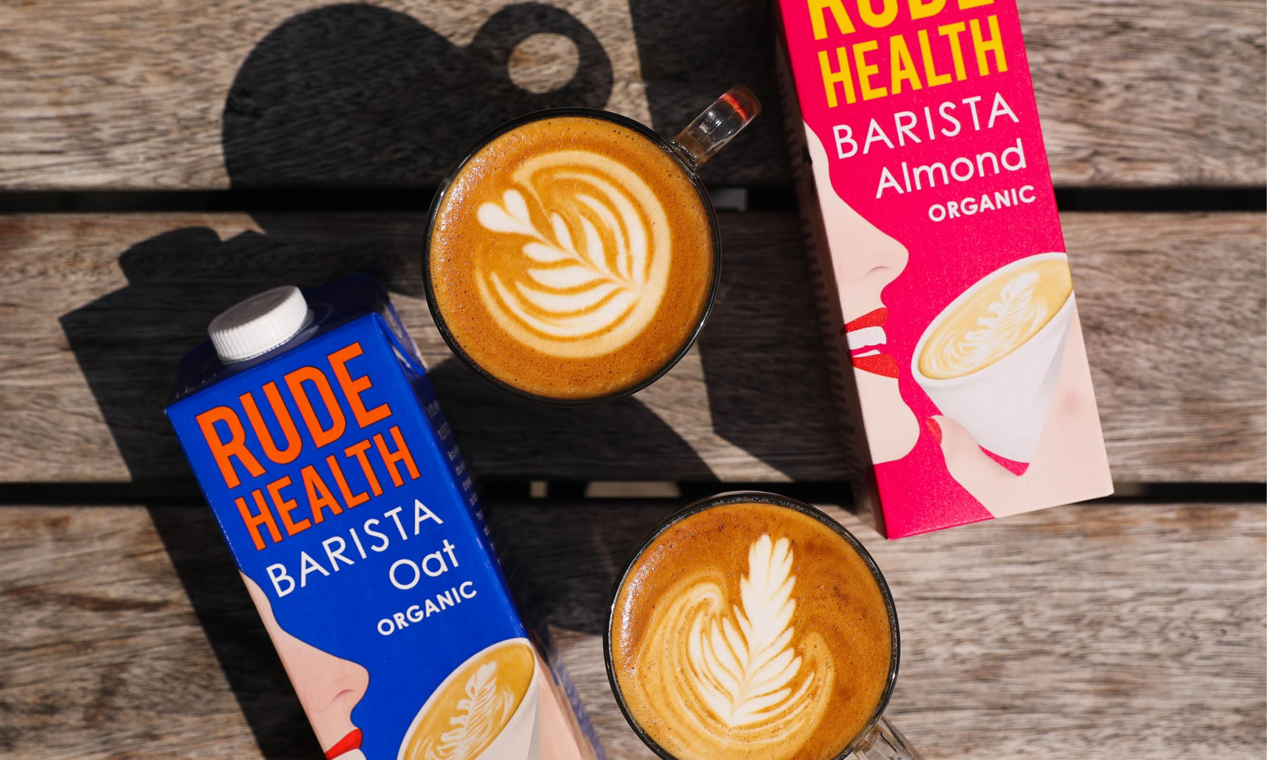 Rude Health Barista Milk Alternatives