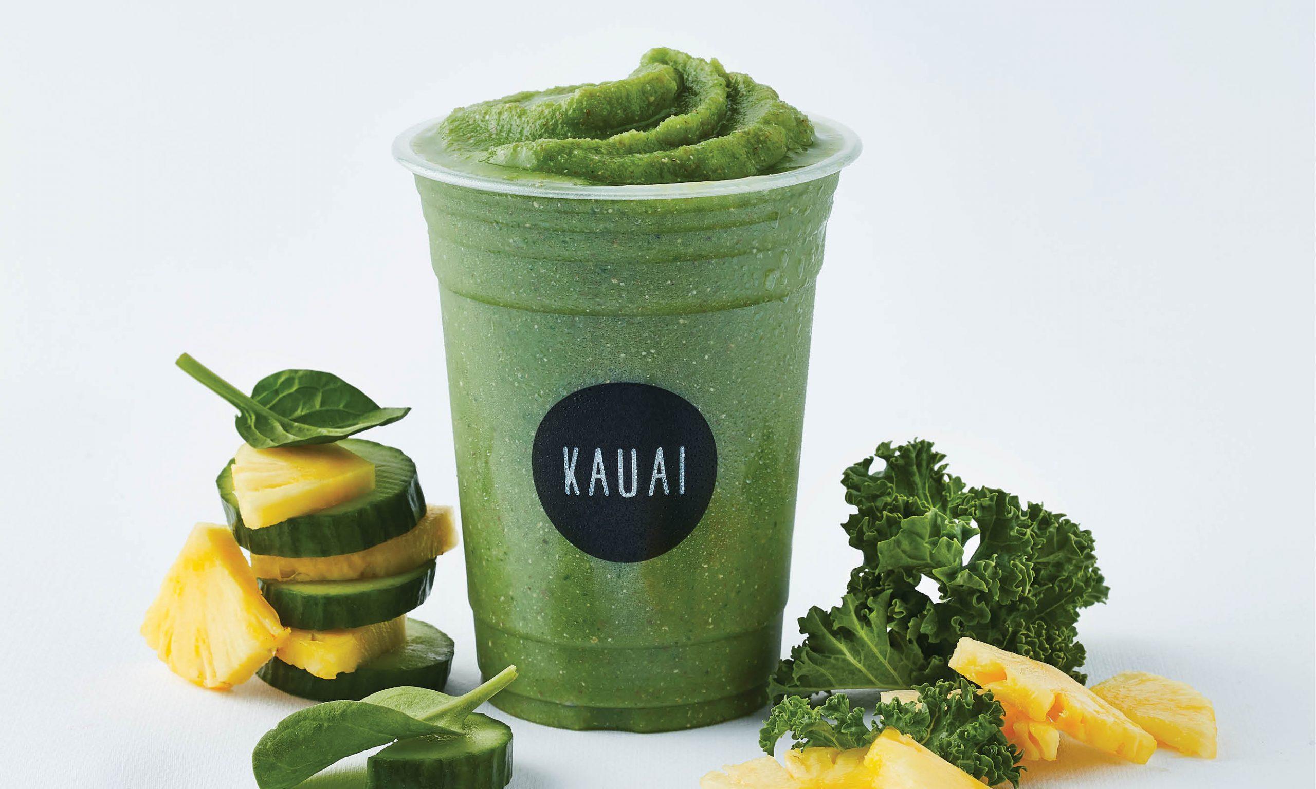 Kauai All the greens smoothie