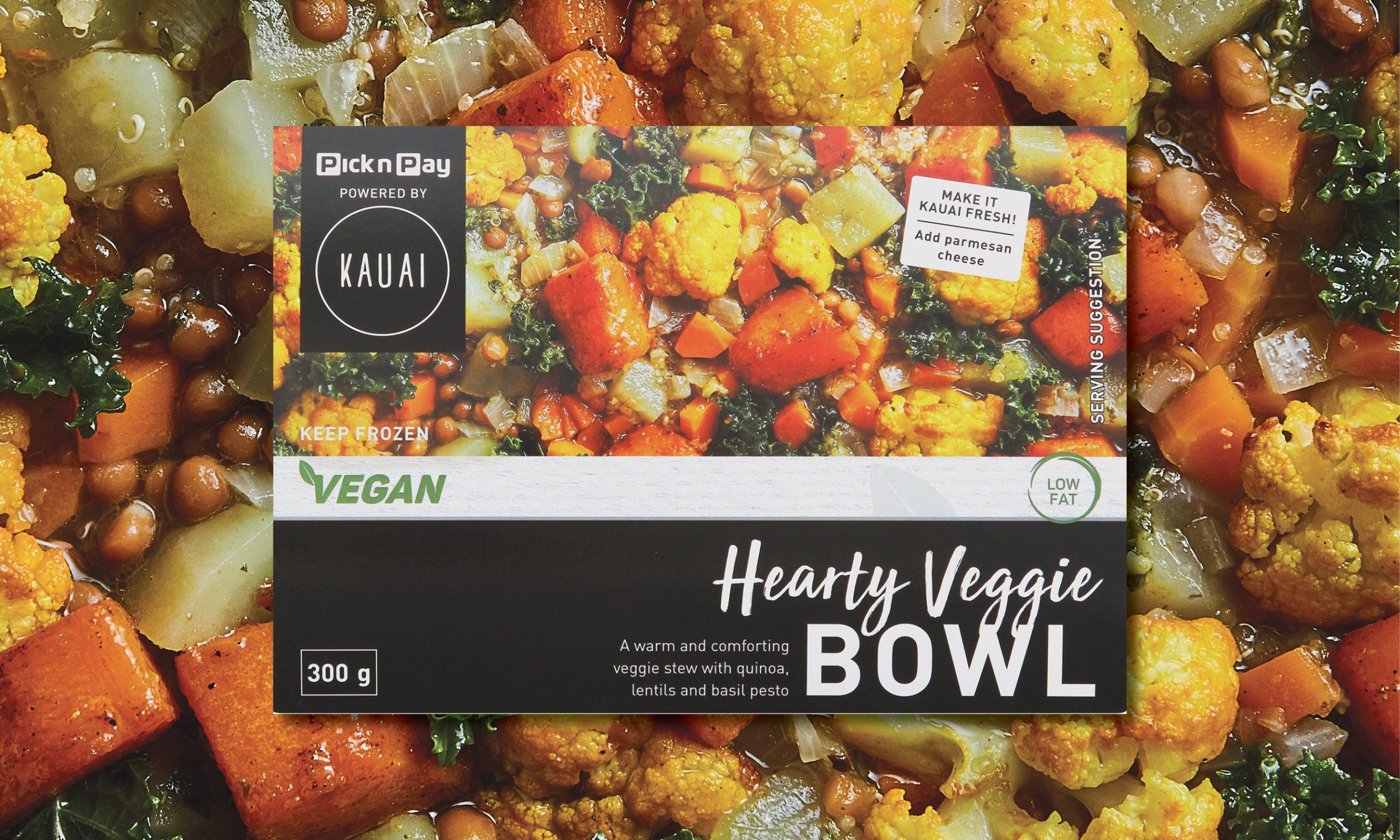 Kauai x PnP Hearty Veggie Bowl